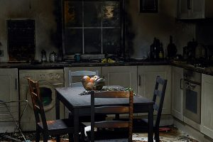 fire damage kitchen